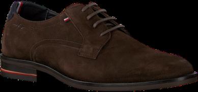 Bruine Tommy Hilfiger Nette Schoenen Signature Hilfiger Shoe