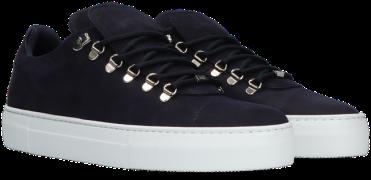 Blauwe Nubikk Lage Sneakers Jagger Classic