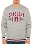 Superdry Sweater in grijs voor Heren, grootte: S