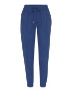 TOMMY HILFIGER, Dames Broek 'JAMILA JOGGER PANT', blauw / donkerblauw